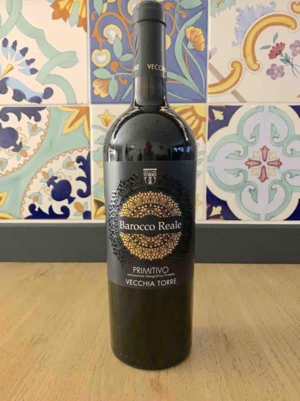 Wine Primitivo-IGP-BaroccoReale-Vecchia-Torre-2013